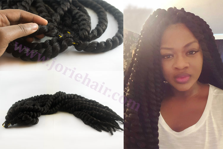 Twist Hair Jumbo Short Dread Styles Braiding