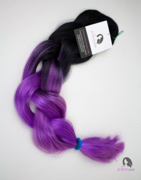 purple expression ombre jumbo braiding hair