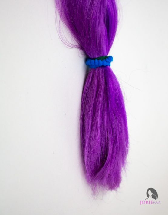 purple close up expression ombre jumbo braiding hair