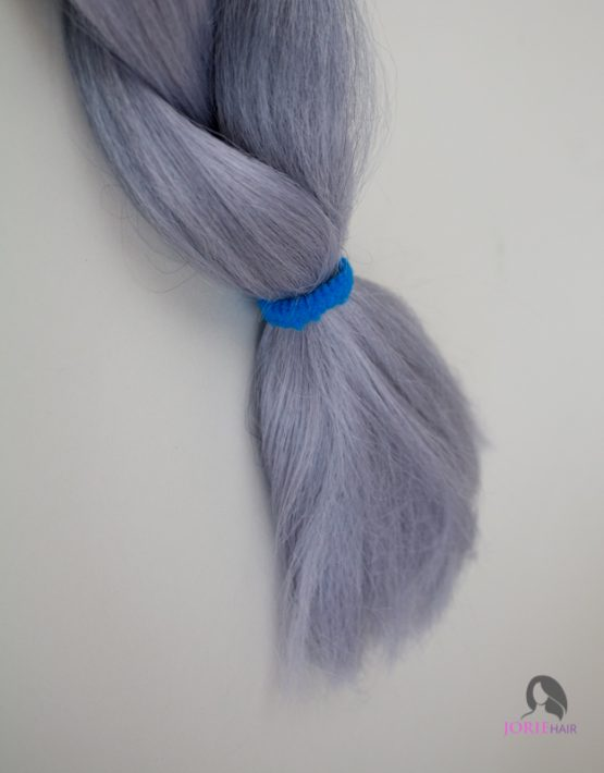 silver tips expression ombre jumbo braiding hair