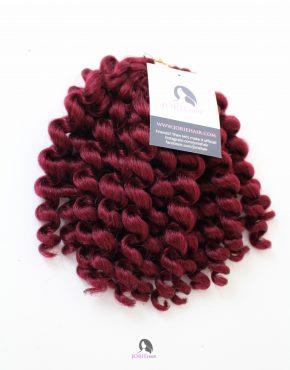 Kemorah Crochet Curl Burgndy