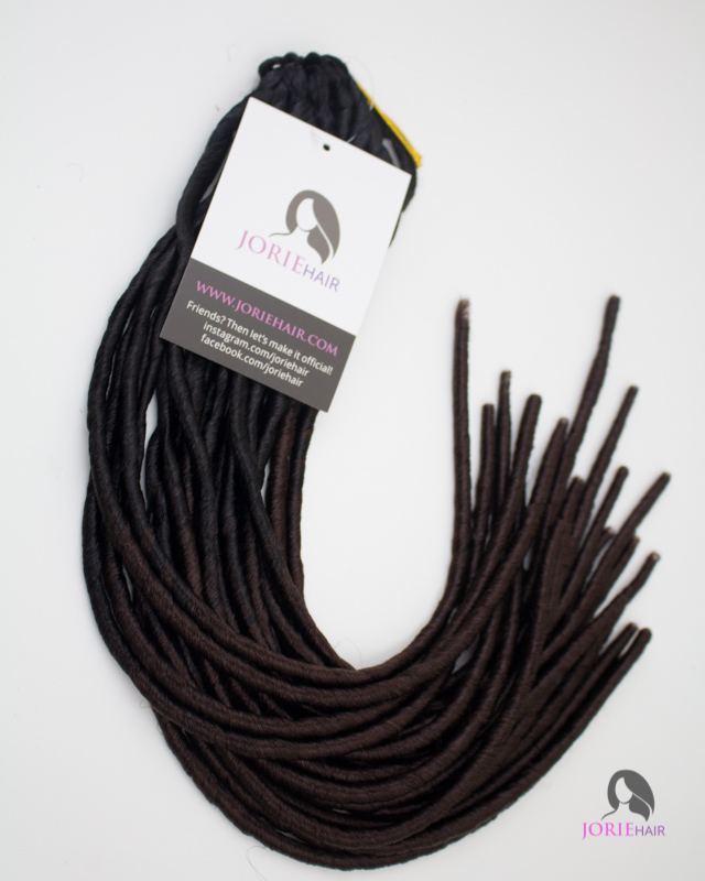 Skinny Faux Locs by Jorie Hair 1b/33