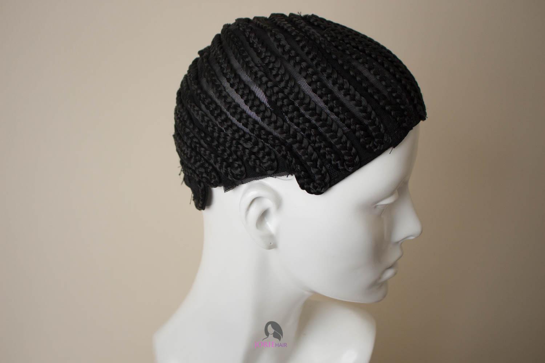 cornrow wig cap for crochet braids