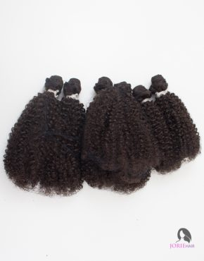 afro kinky weave 2# darkest brown