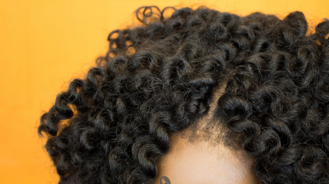 knotless crochet braids curls