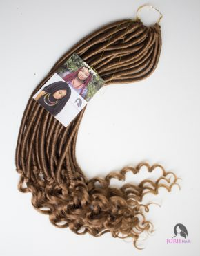 crochet faux locs goddess wavy colour 27