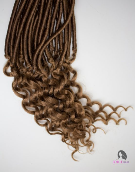 crochet faux locs goddess wavy colour 27 tips