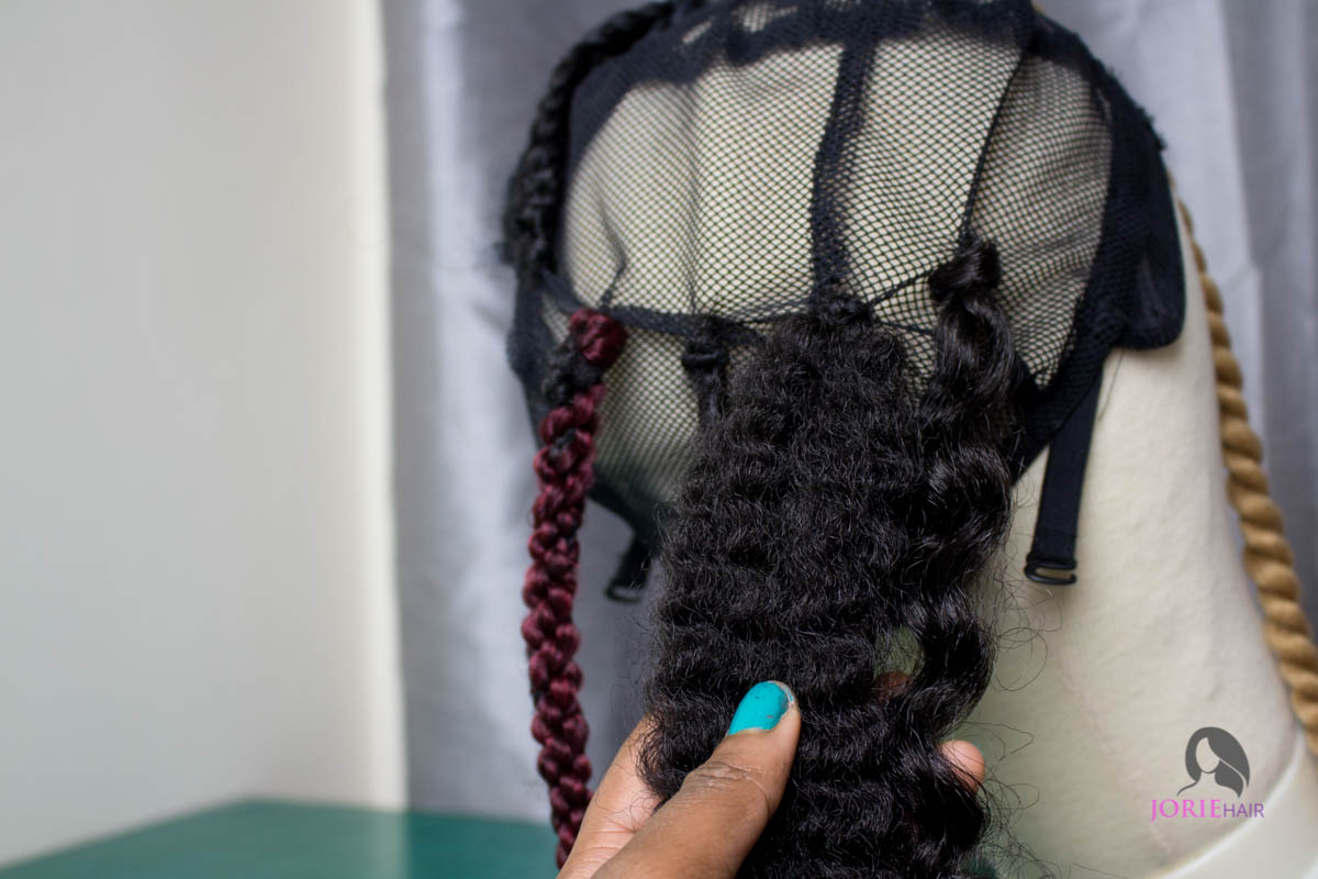 Individual crochet braids tutorial-12