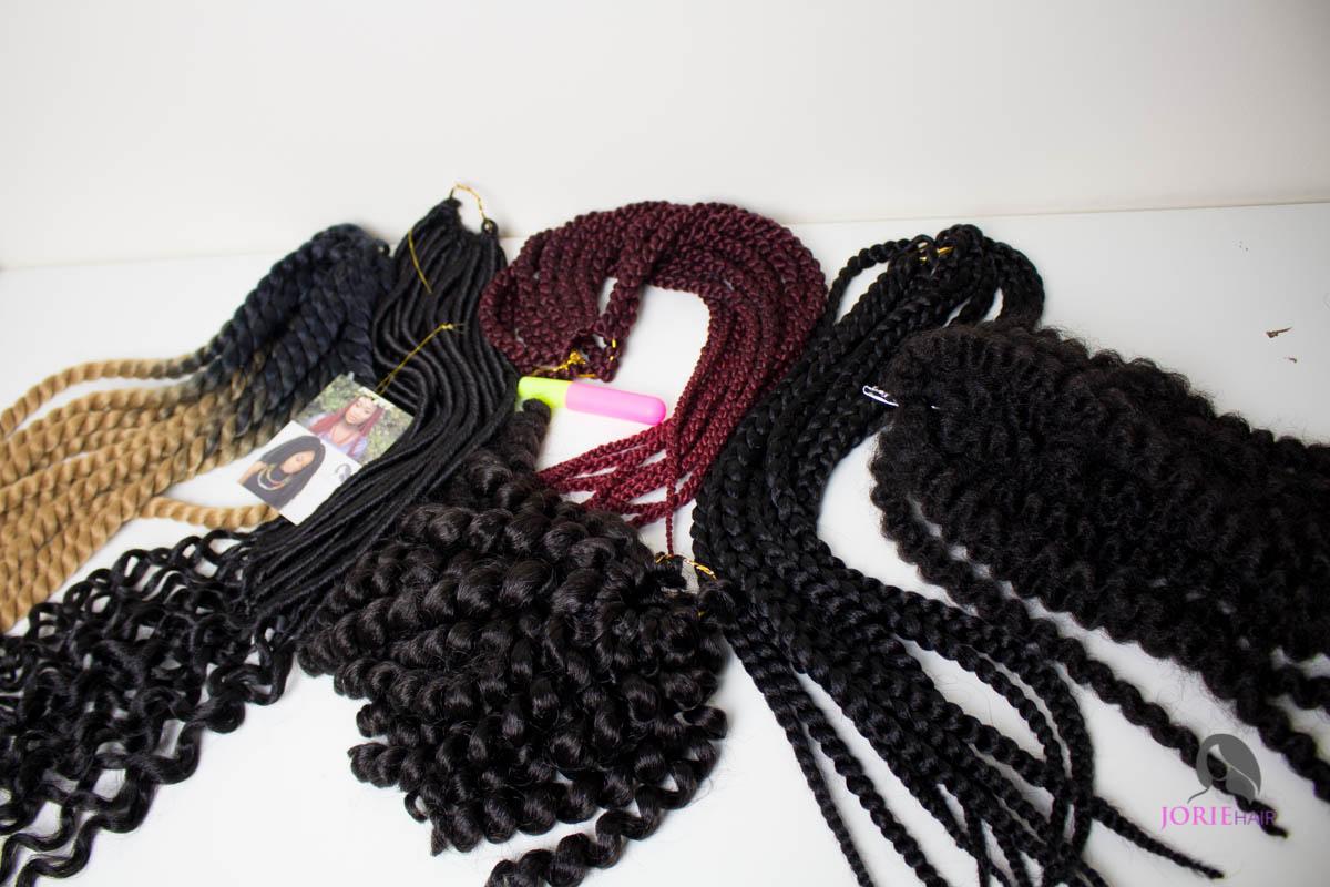 Individual crochet braids tutorial-2