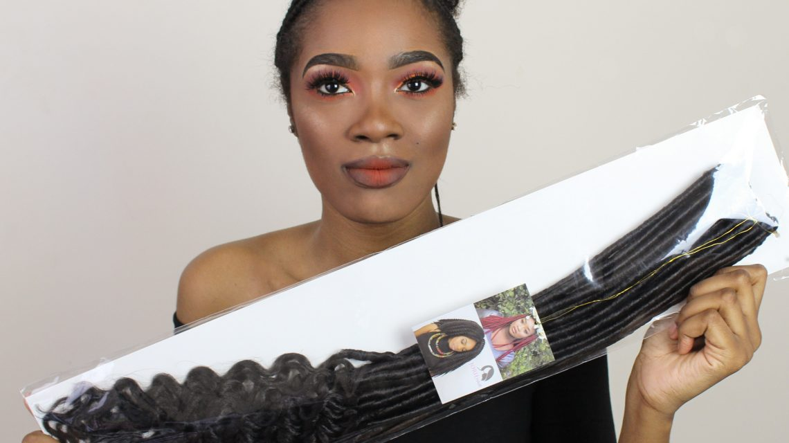 goddess faux loc tutorial