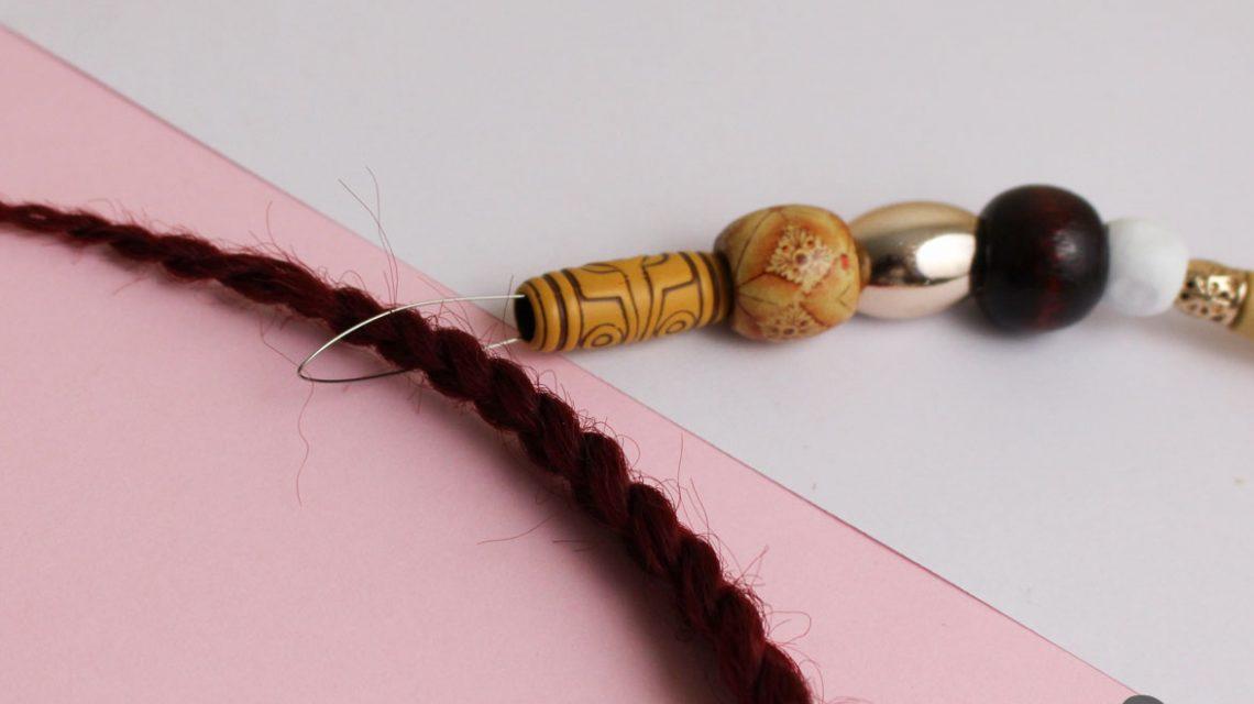 crochet box braids and beads 4