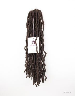 Kinky Crochet Faux Locs colour 4 dark brown