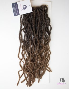 Kinky Crochet Faux Locs ombre 30/27 ombre brown