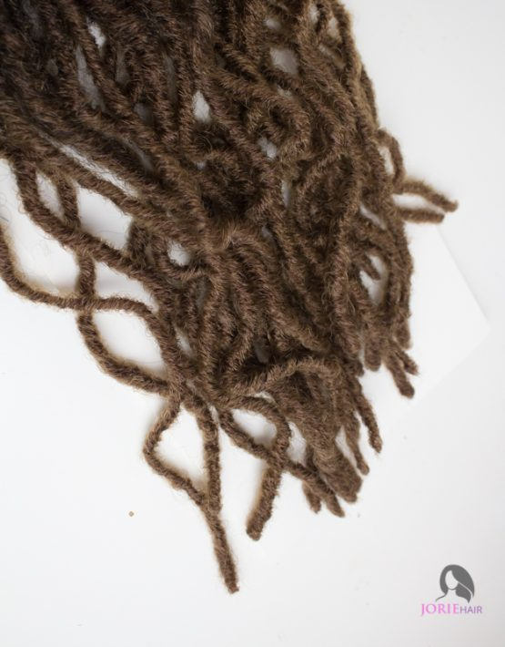 Kinky Crochet Faux Locs ombre 30/27 ombre brown ends