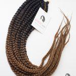 long crochet box braids ombre brown ombre 30#