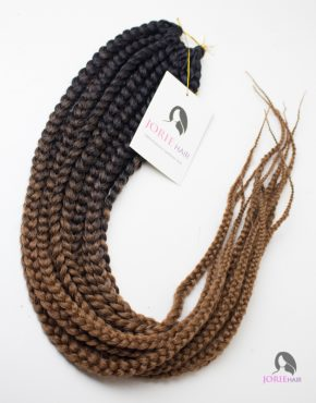 long crochet box braids ombre brown ombre 30#