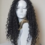 long synthetic lace front wavy wig audrey