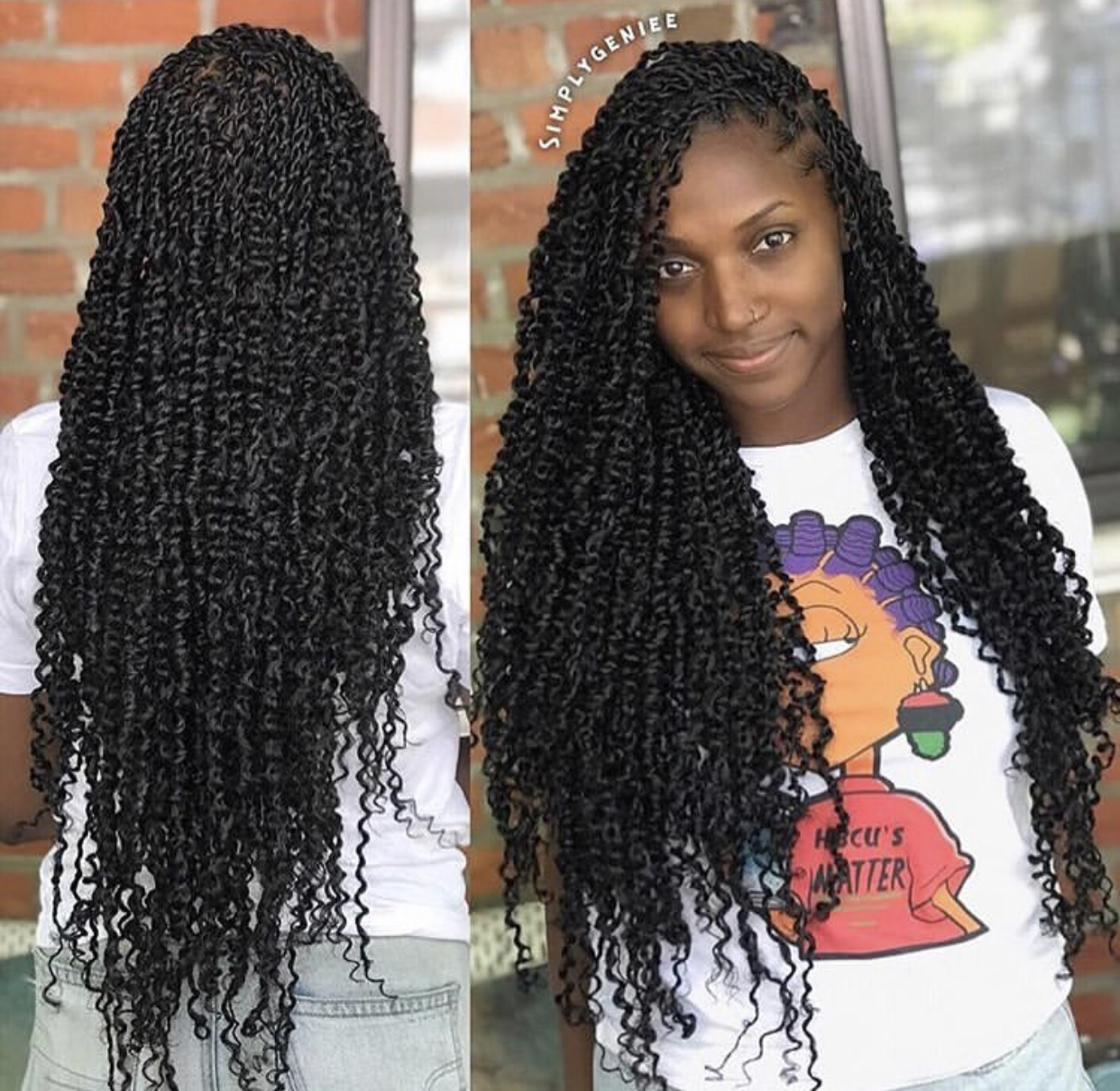 passion twists long image