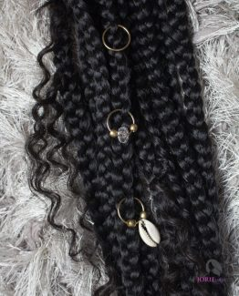 Large Hair Rings