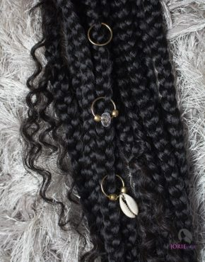 braid accessories - hair rings
