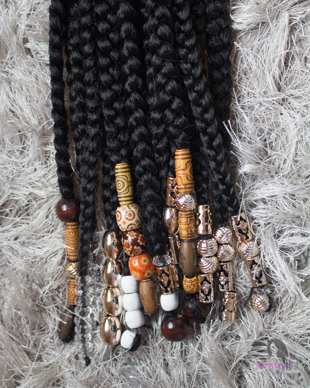 braid accessories - beads