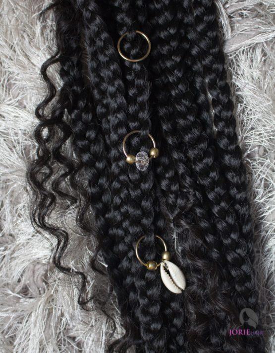 braid accessories - hair rings
