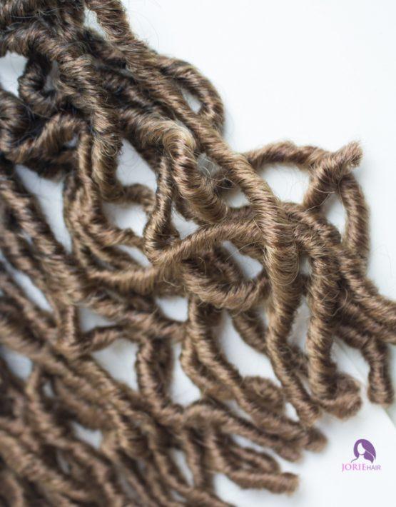 crochet faux locs short 3027 ombre
