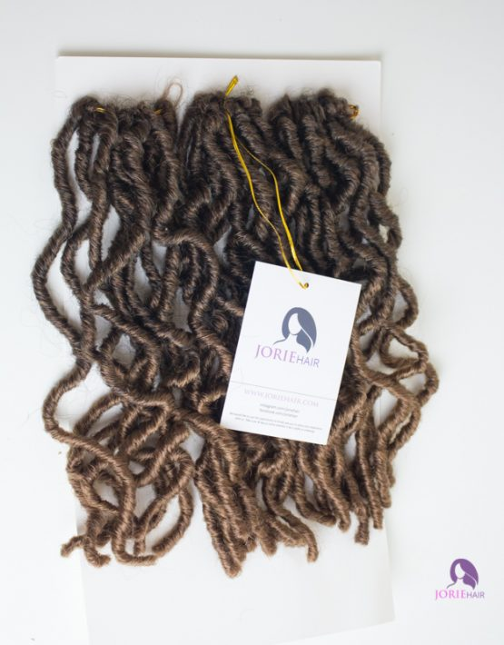 crochet faux locs short bob 3027 ombre