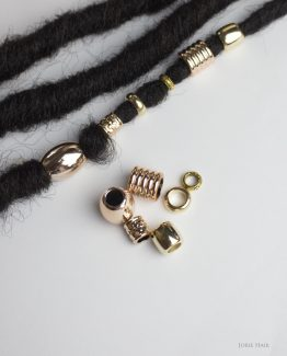 Golden Dreams Hair Beads Set