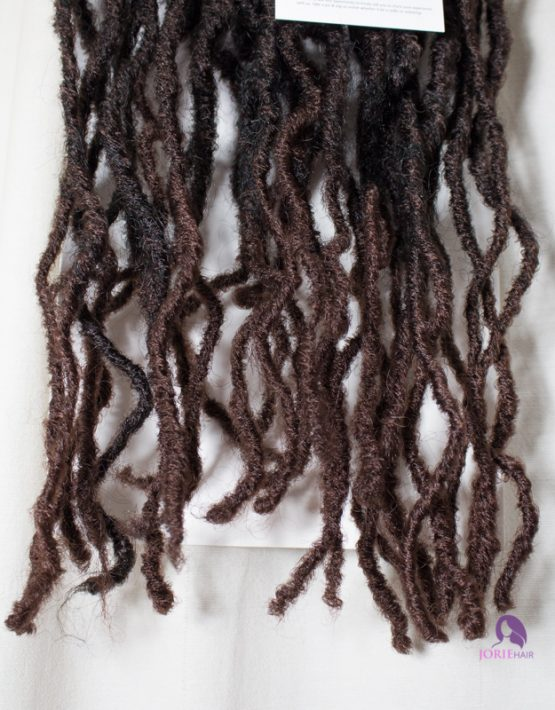 crochet faux locs hair ombre 33 tips