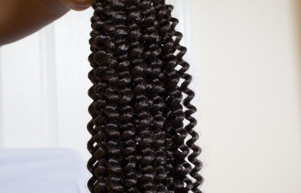 textured yaki passion twists hair
