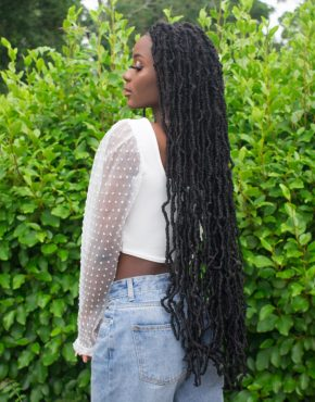soft locs extended back